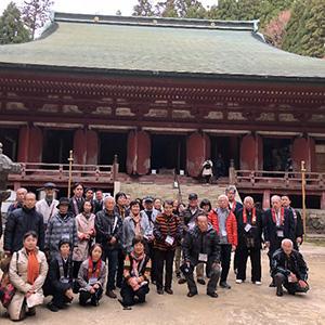 Shinran's Day特別体験ツアー(11月16日 in 比叡山延暦寺)開催報告